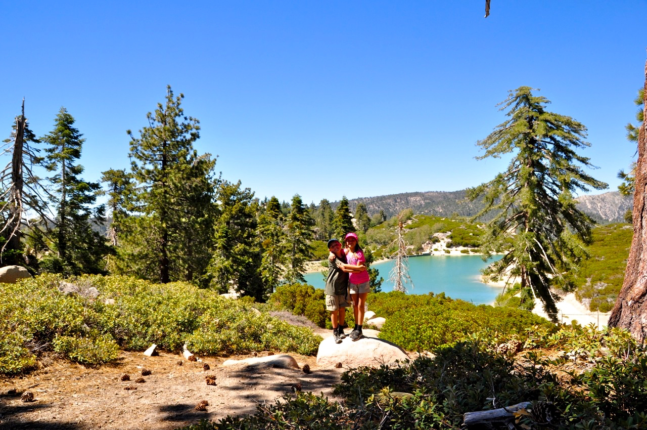 Hike near Lake Arrowhead