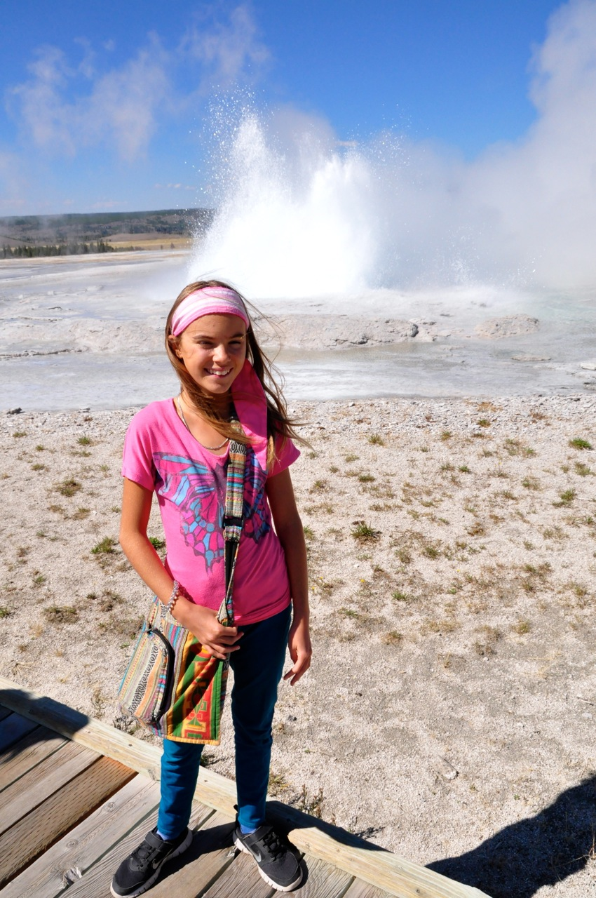Reka and Old Faithful 2012
