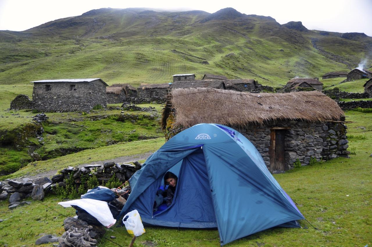 Camping in Choa Choa Peru Day 2