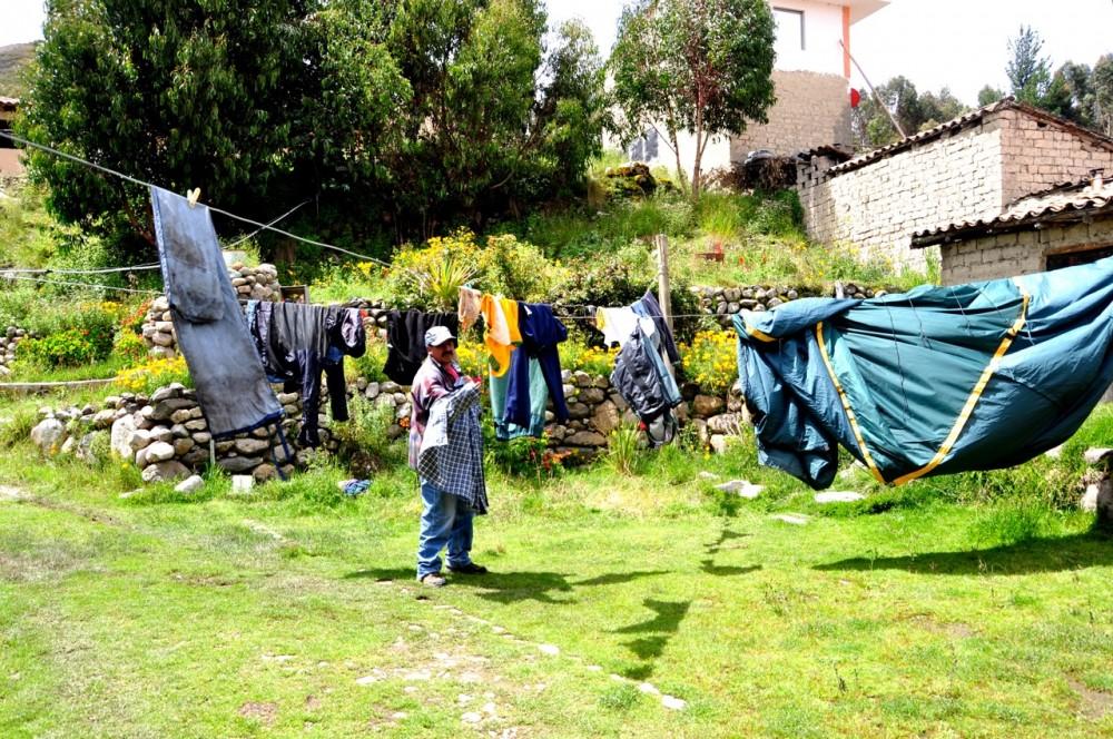 Drying in Tinki