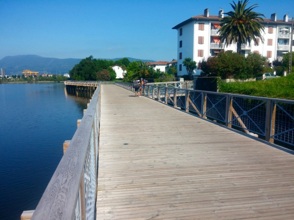 Walking along the Bidasoa Estuary on the French Side