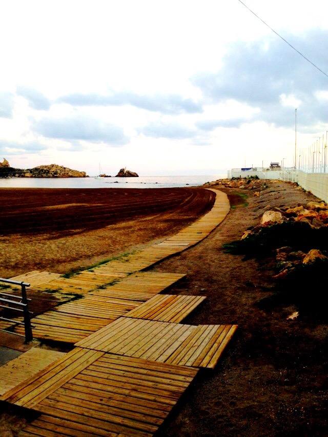 Aguilas Beach