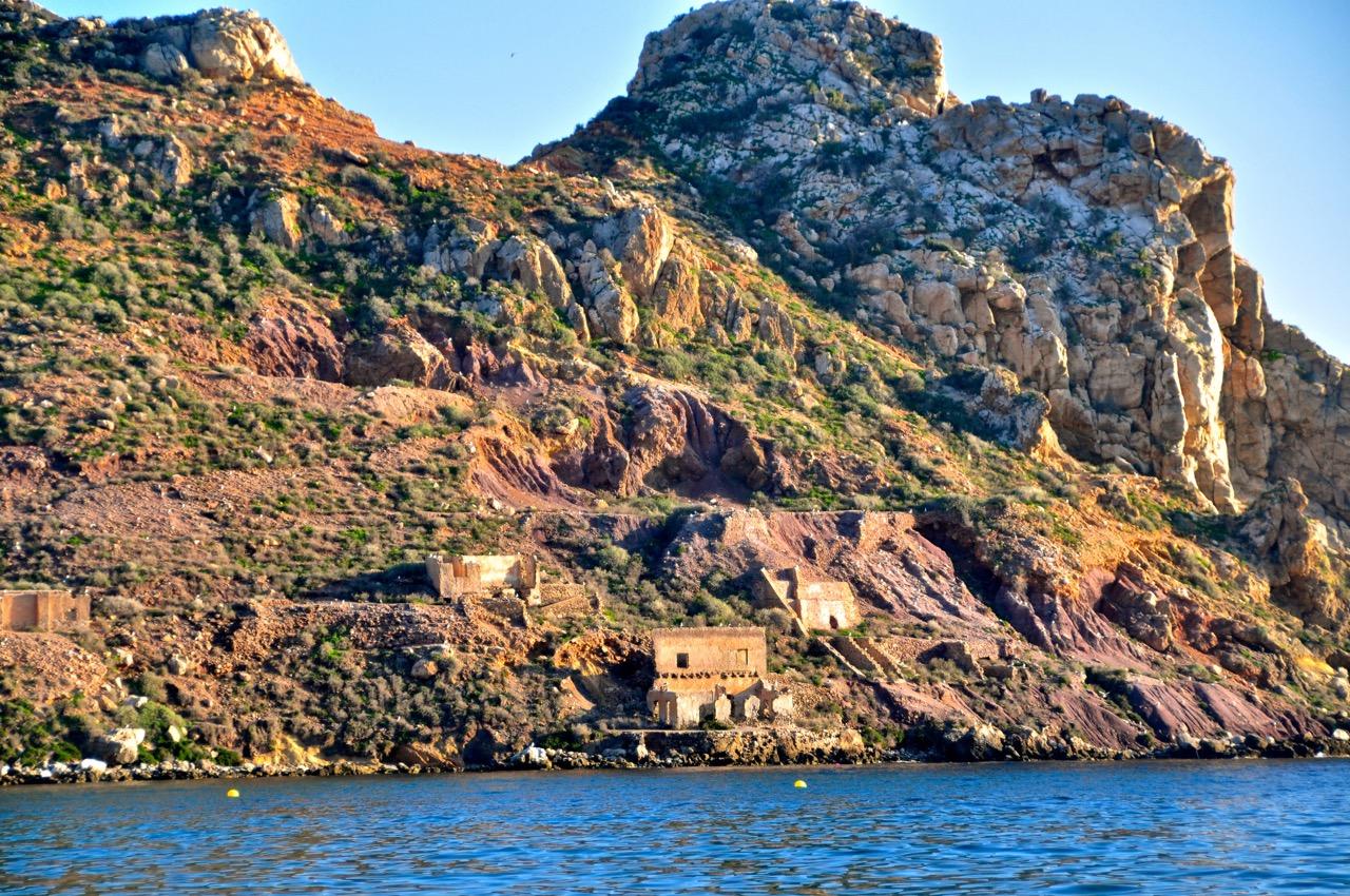 Ruins of Isla de Fraile