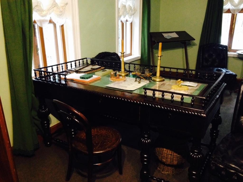 15 Leo Tolstoys Writing Desk