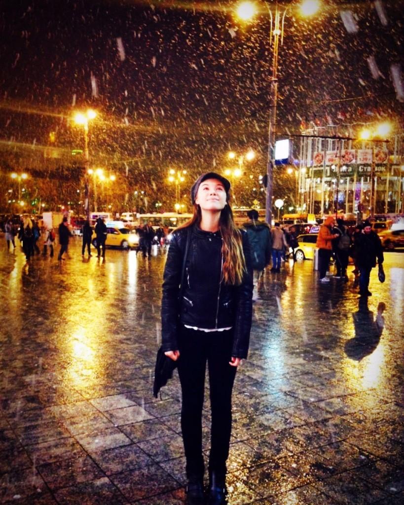 2 Snowing