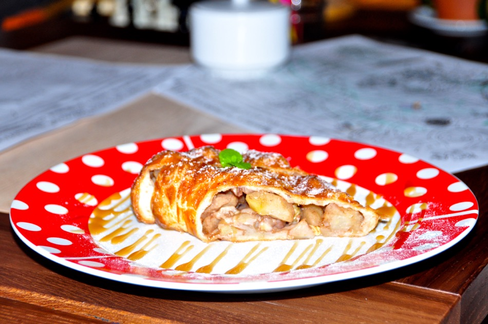 Apple Strudle in Moscow