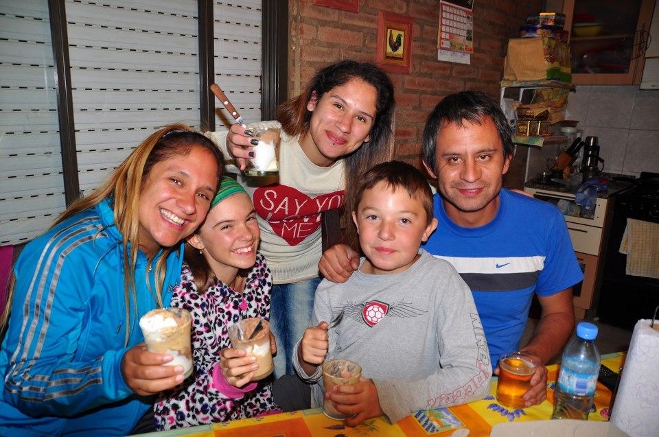 Friends in Argentina
