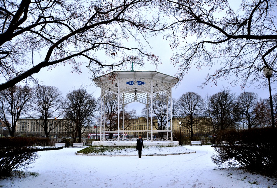 Gorky Park Moscow Winter