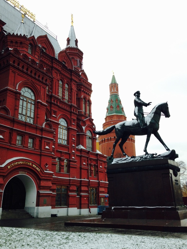 Horse and Kremlin