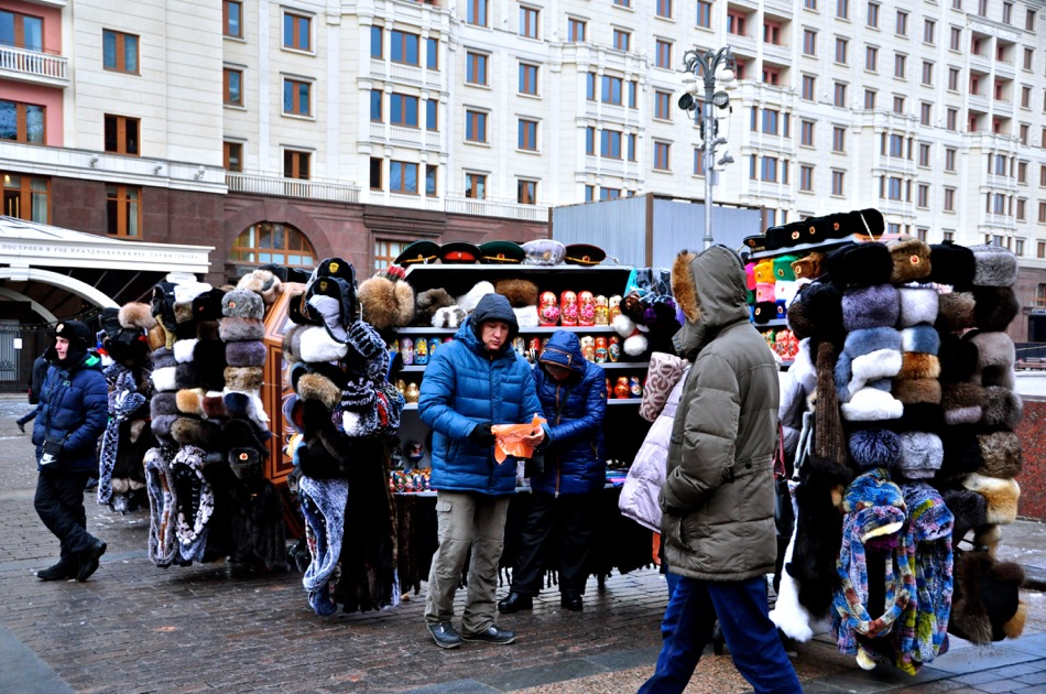 Moscow Winter Hats
