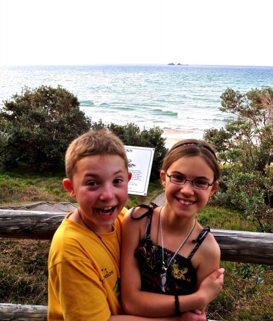 Reka & Lalika 2012 Byron Bay