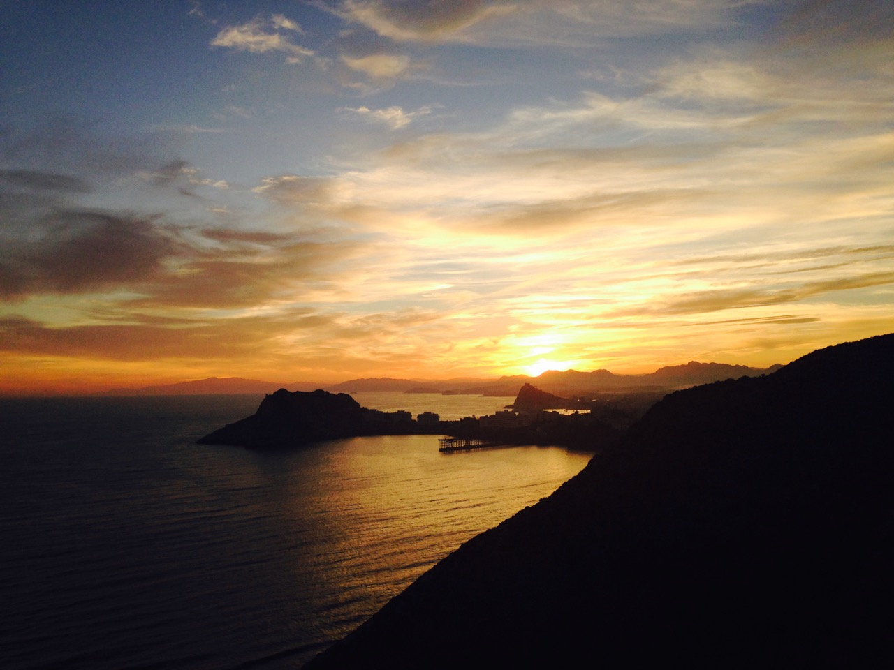 Sunset Aguilas