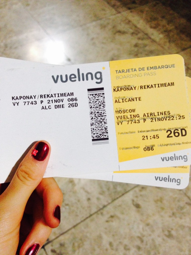 Tickets Vueling