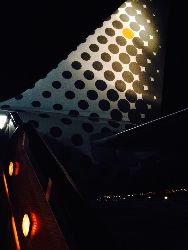 Wing of Vueling