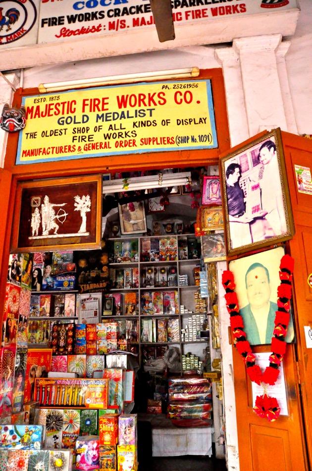 Fireworks shop_Old Delhi