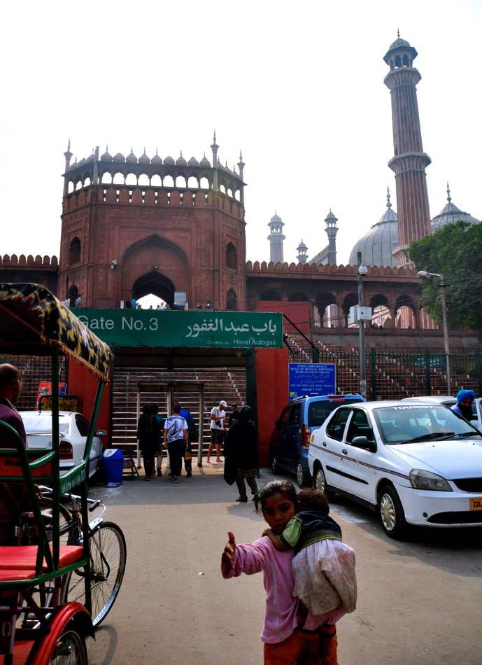 Jama Masjid Mosque_Old Delhi