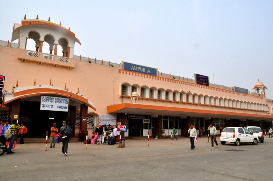 Jaipur Railway Station Entrance