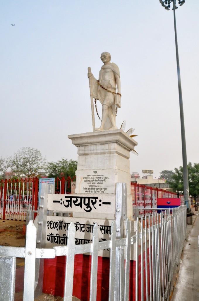 Gandhiji Statue Jaipur