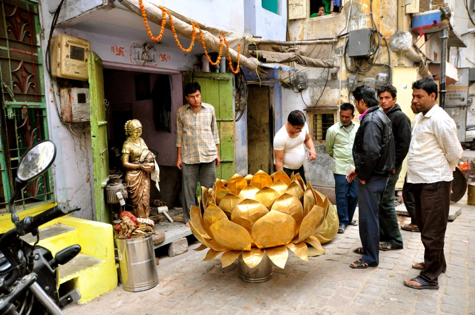 Lotus Sculpture Jaipur