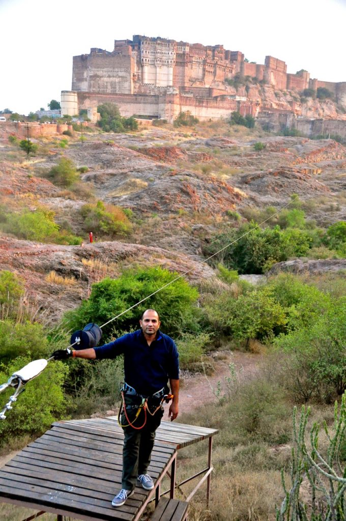 Arun at Flying Fox Jodhpur