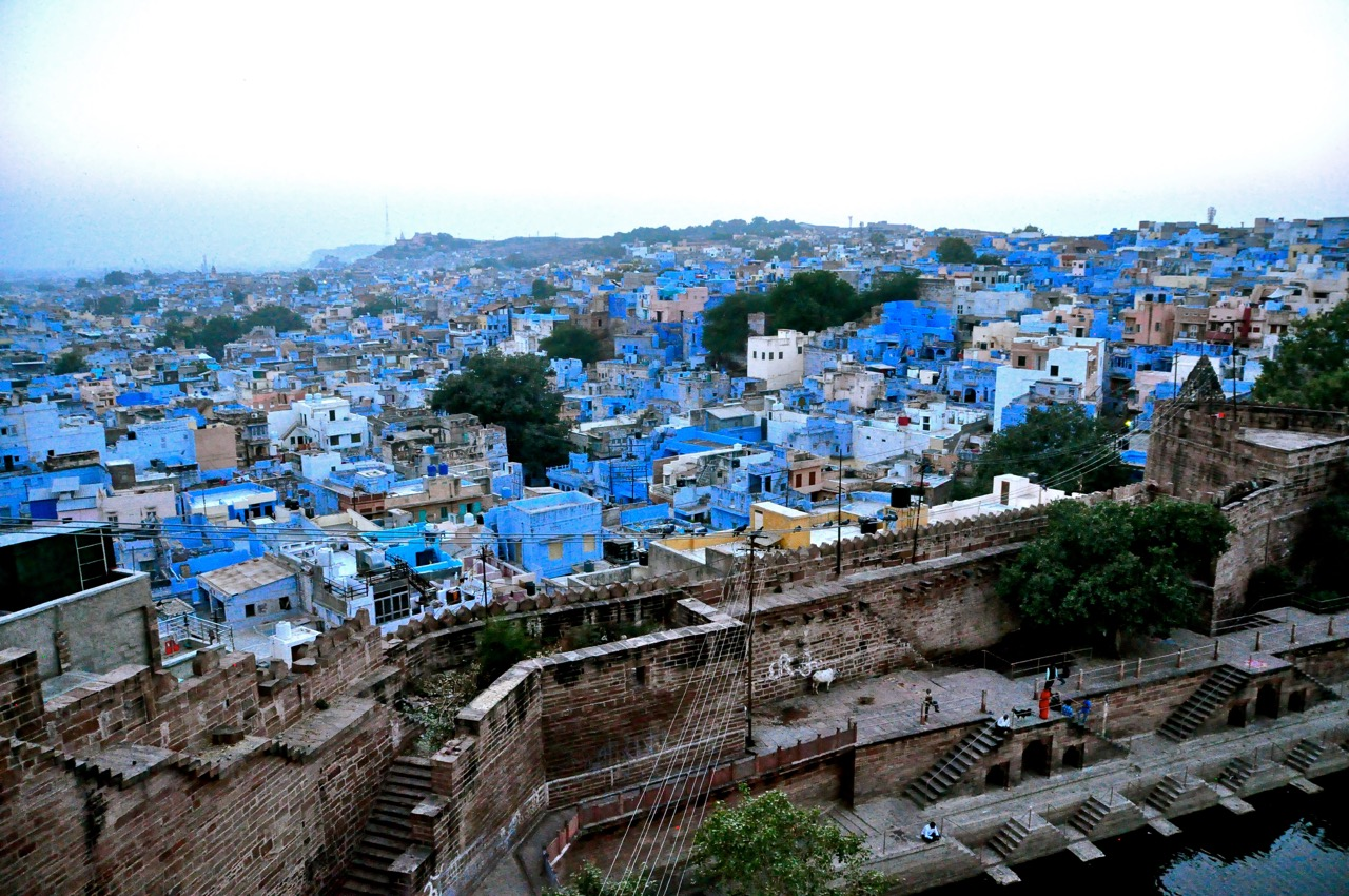 The Blue City, Jodhpur INDIA