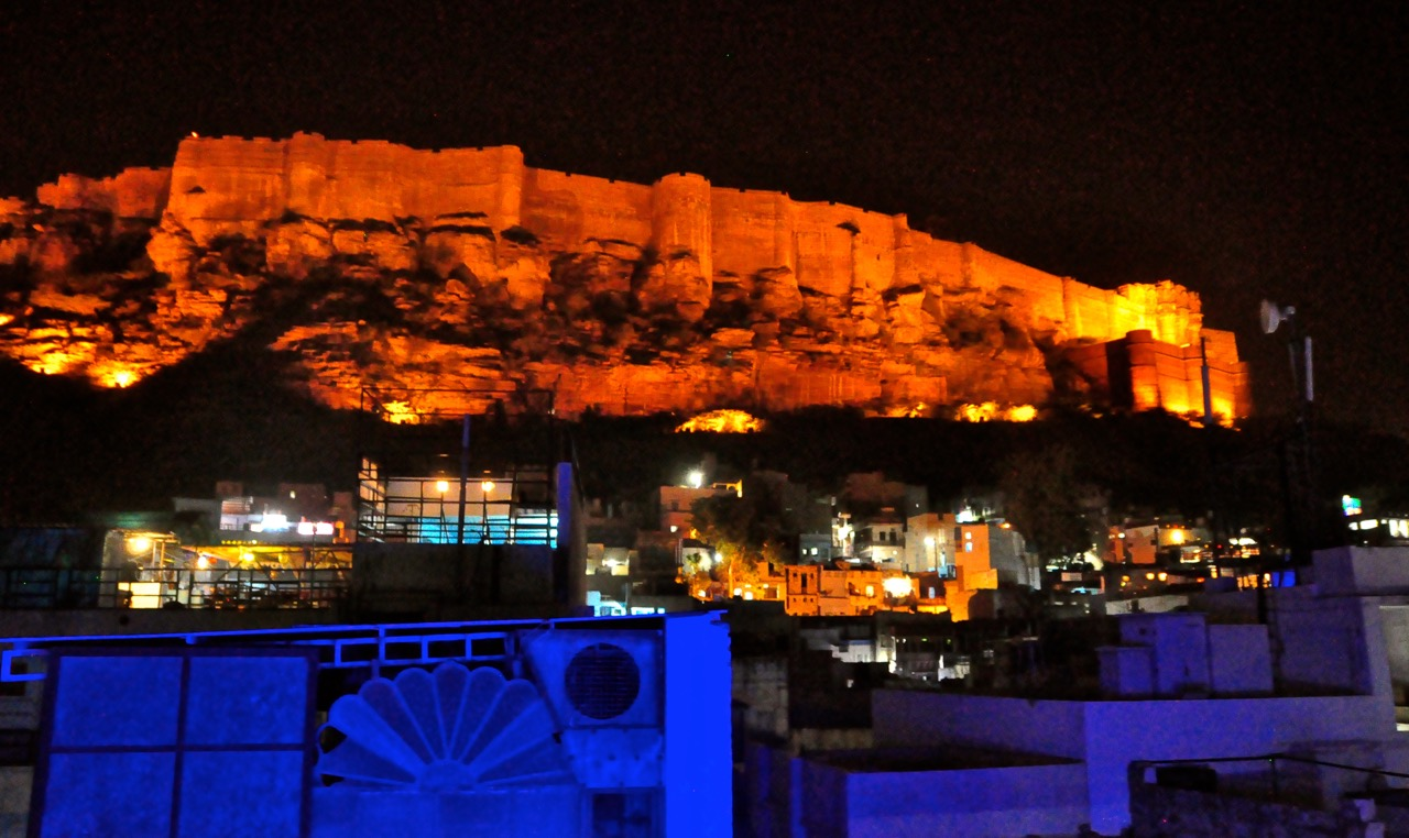 Jodhpur at night 12