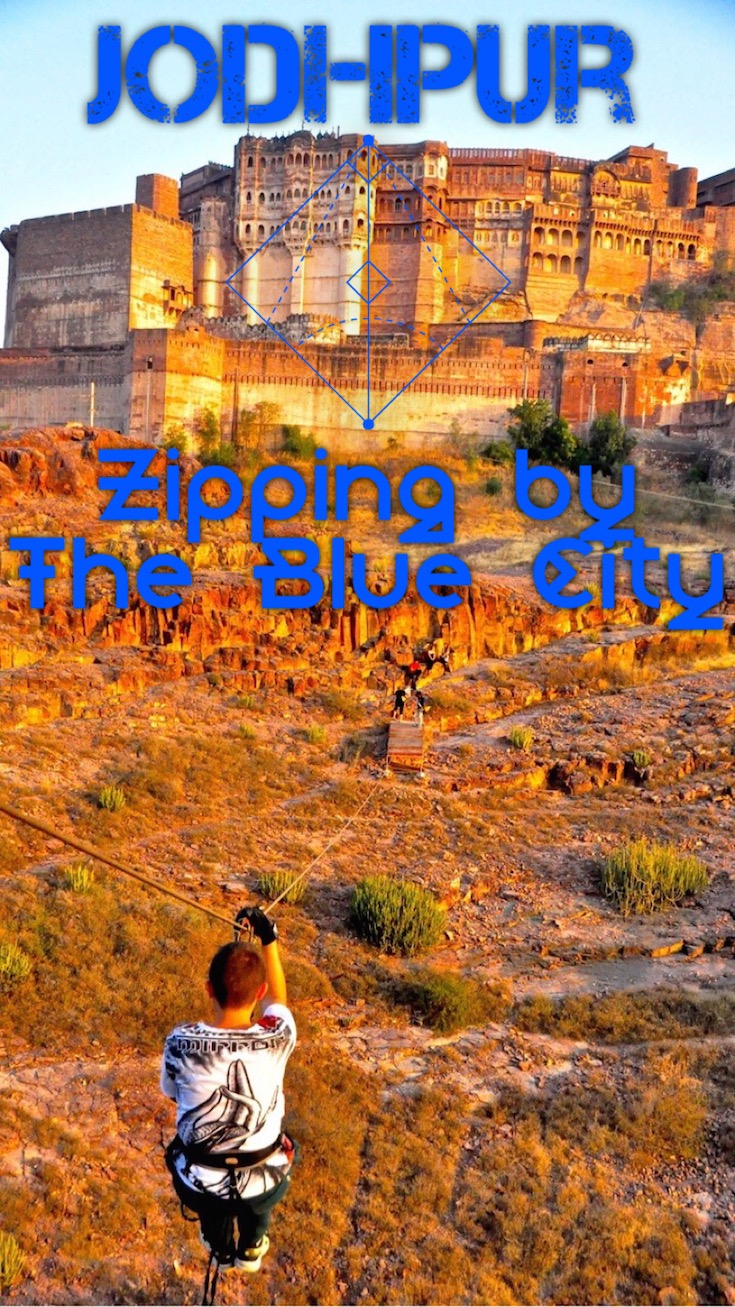 Jodhpur Zipping by The Blue City Pin (1)
