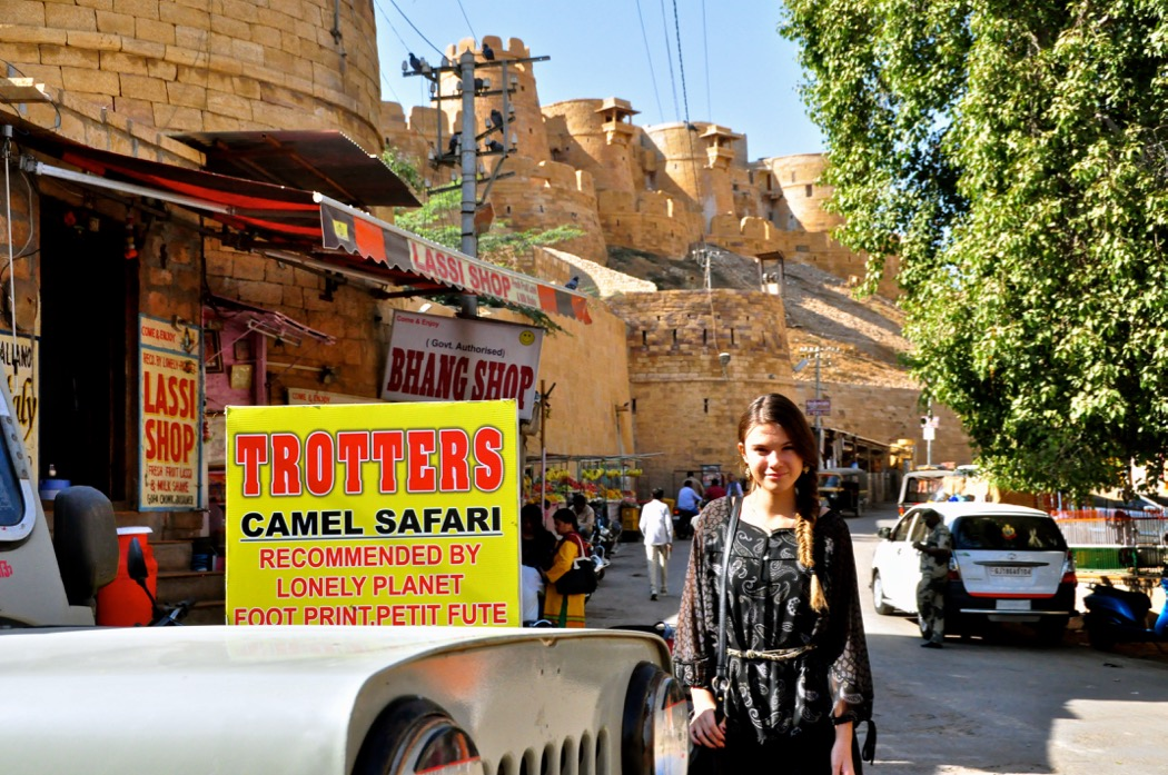 Reka at Trotters Jaisalmer