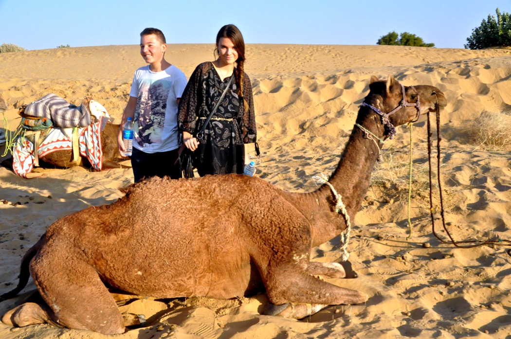 Reka & Lalika Thar Desert with Trotters
