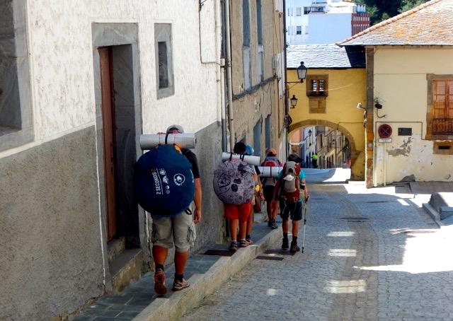 Cobblestone streets of Luarca