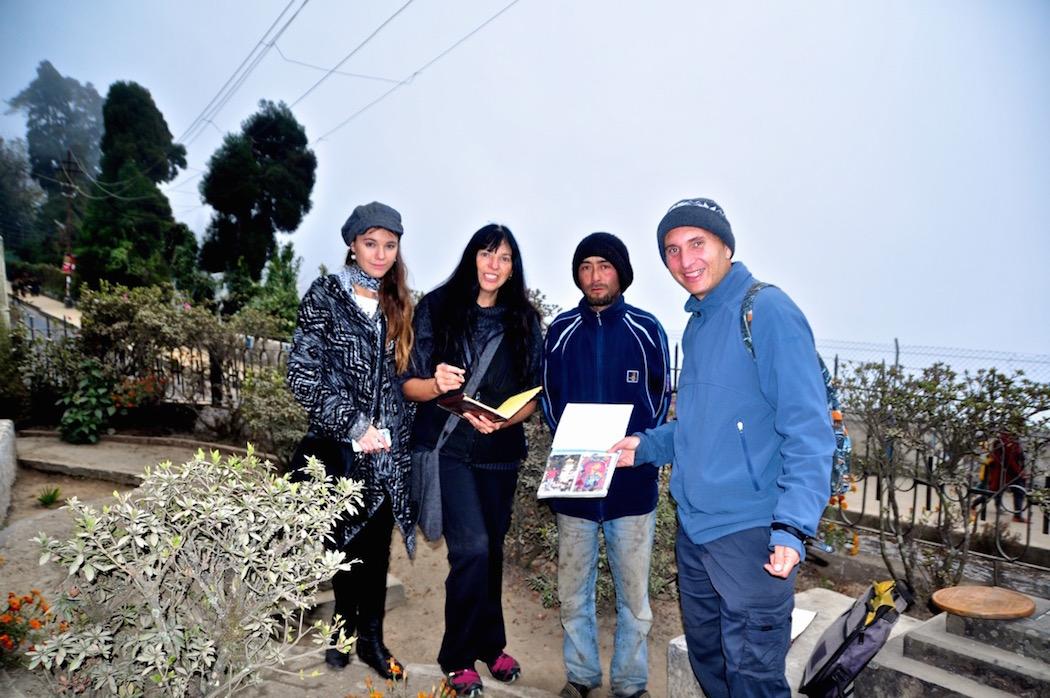 Darjeeling Cemetery Caretaker