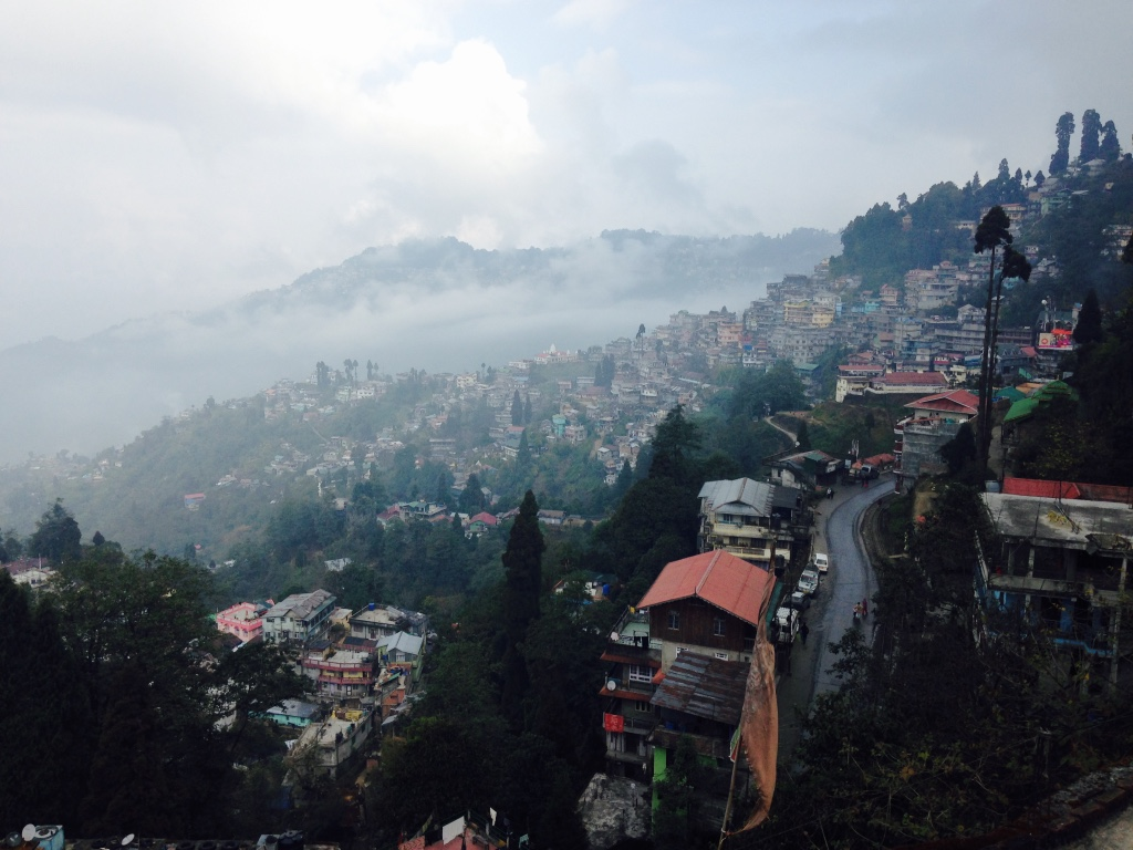 Darjeeling in Misty Cloud