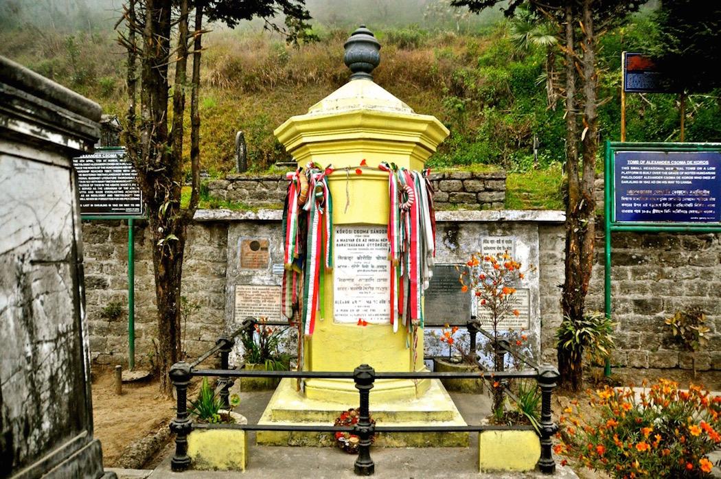 Korosi Csoma Sandor's Grave
