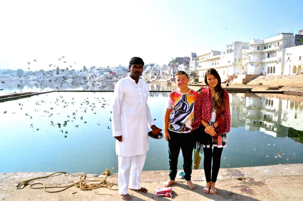 Pushkar Blessing