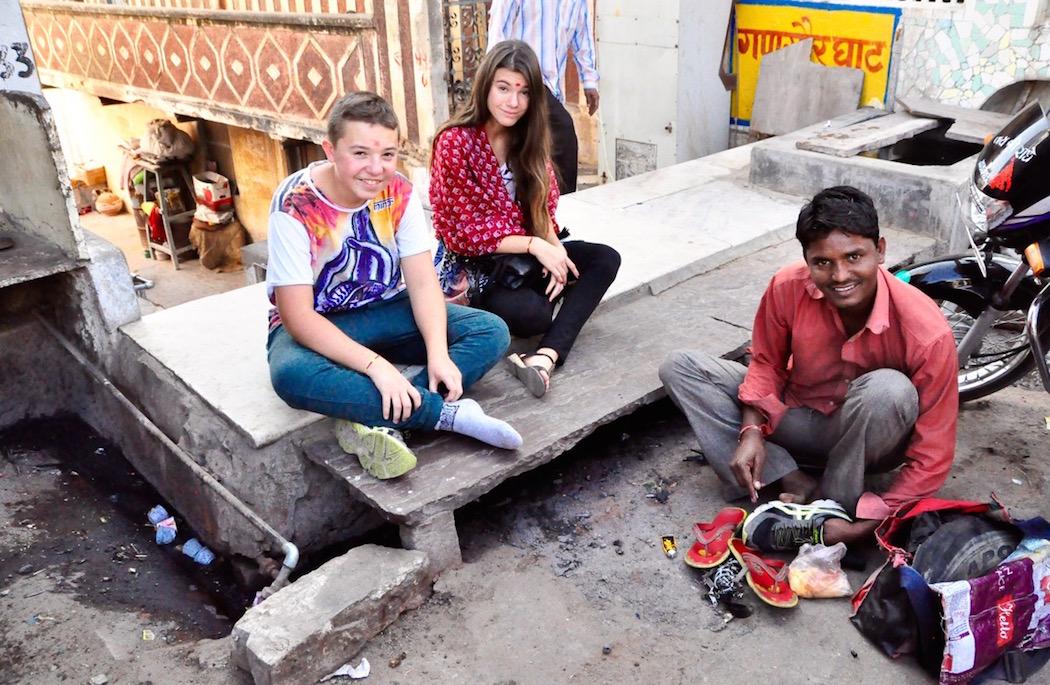 Pushkar Shoe Mender
