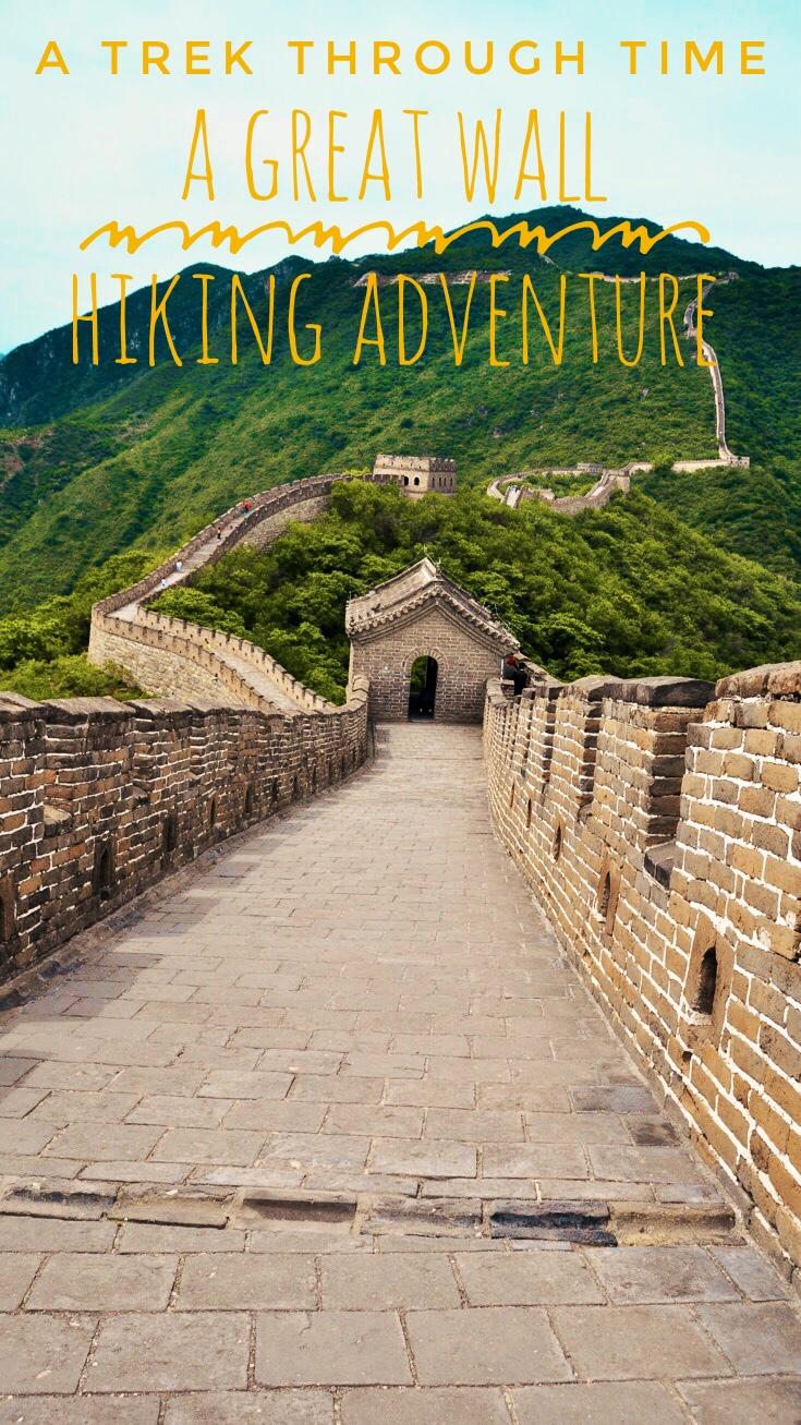 A Trek Through Time A Great Wall Hiking Adventure Pin