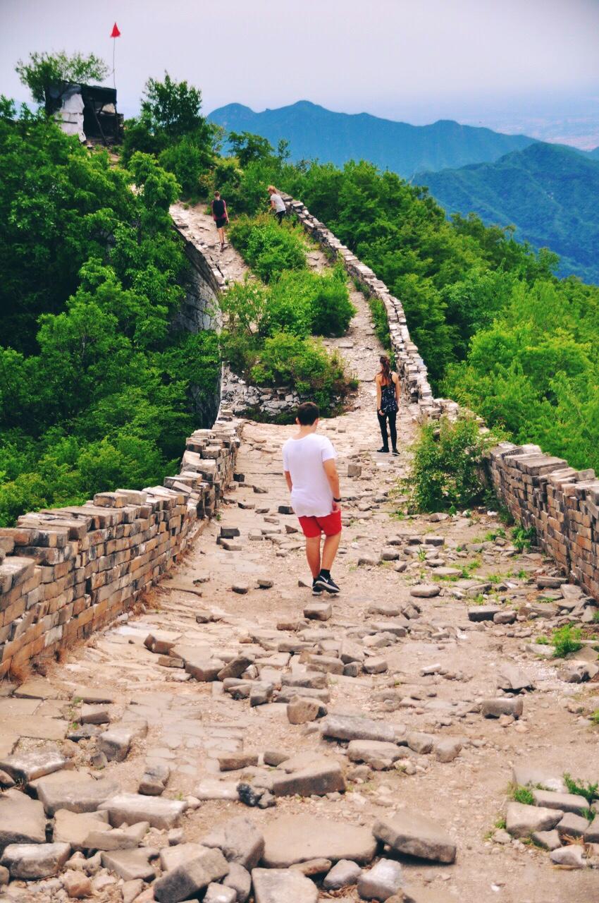 Great Wall Hike Jiankou to Mutianyu 2