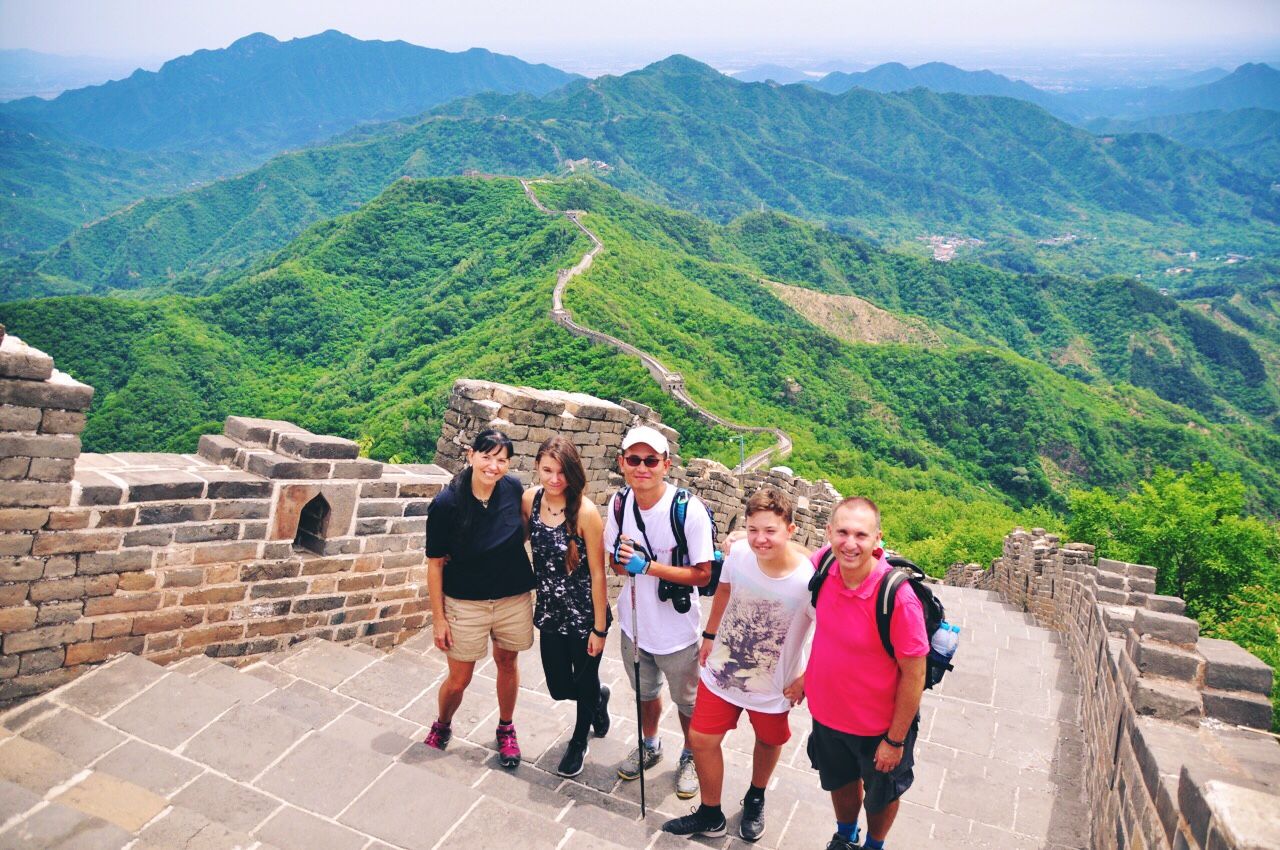 Great Wall Hiking with Cheney