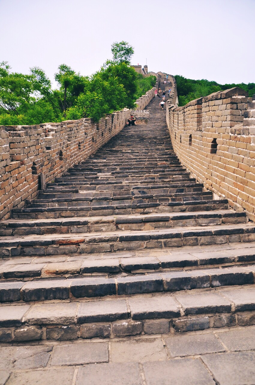 Staircase to Heaven on The Great Wall