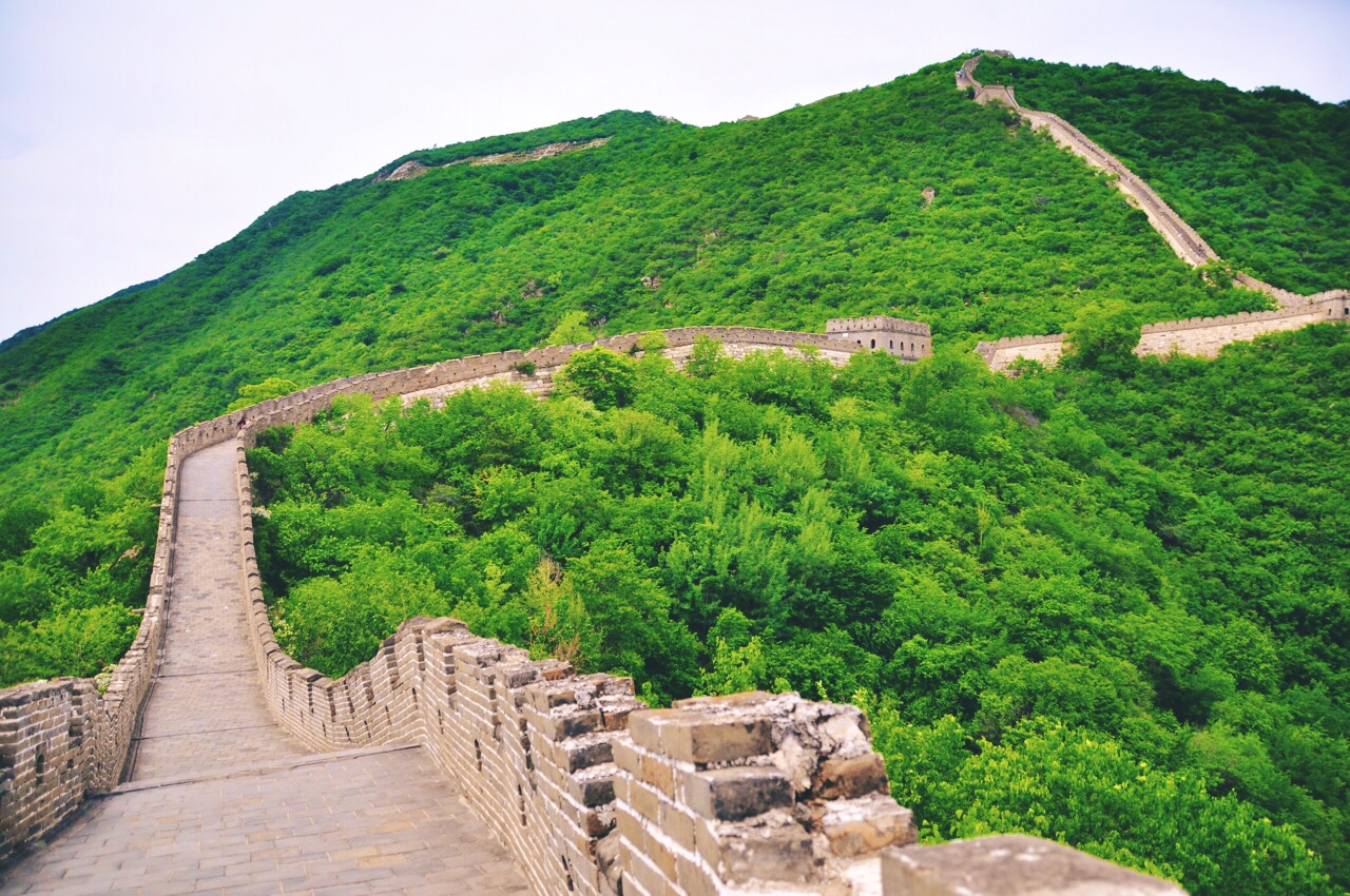 View on Great Wall Hiking at Mutianyu