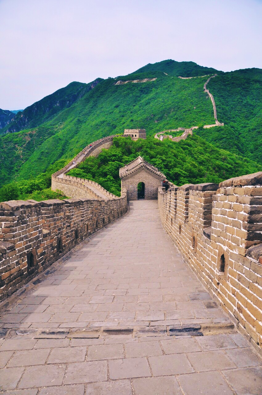 Great Wall near Mutianyu