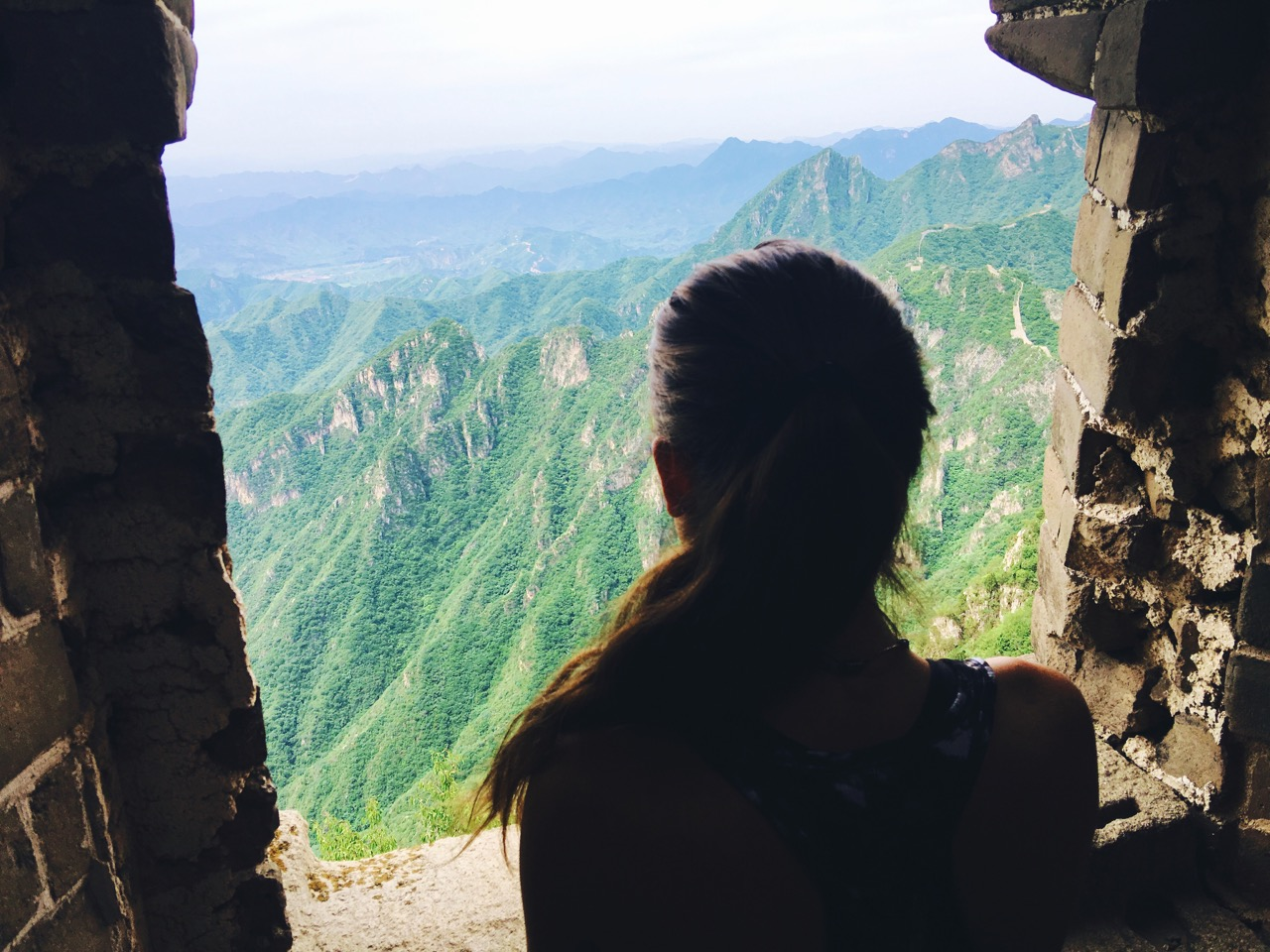 Contemplation at The Great Wall