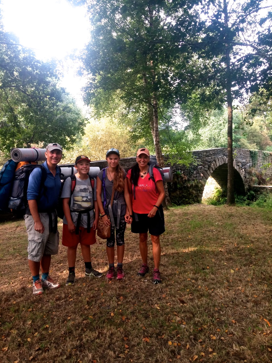 Kaponay Family_Spain_Camino_2015