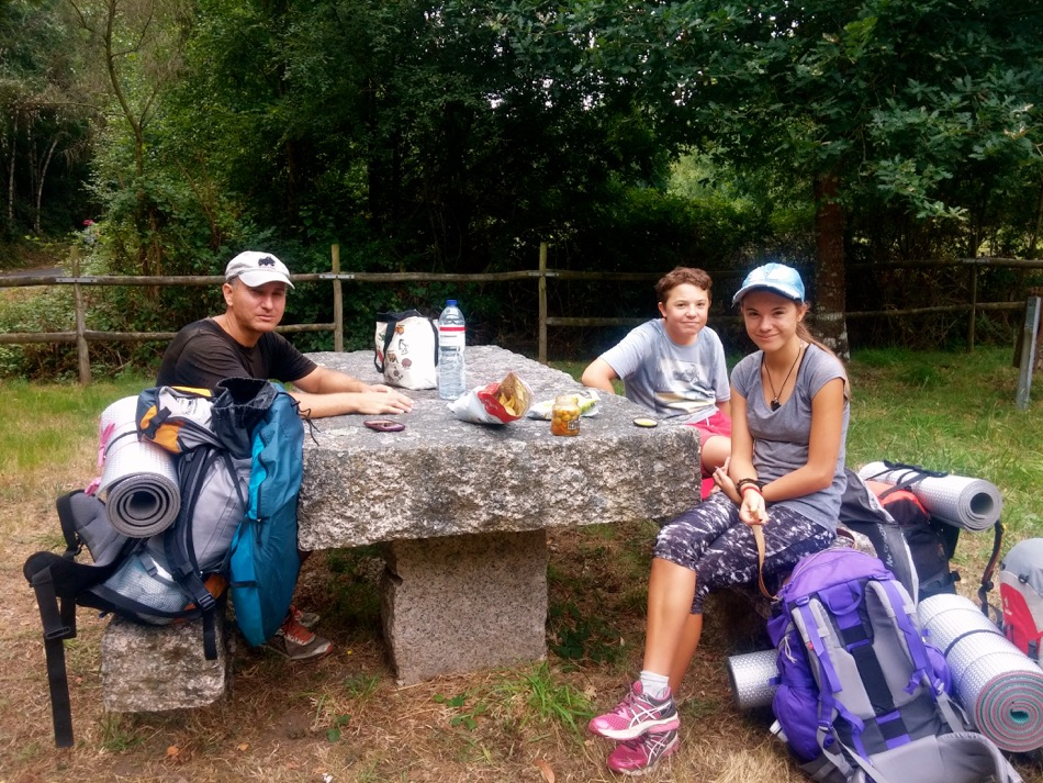 Rest Stop Camino Day 34