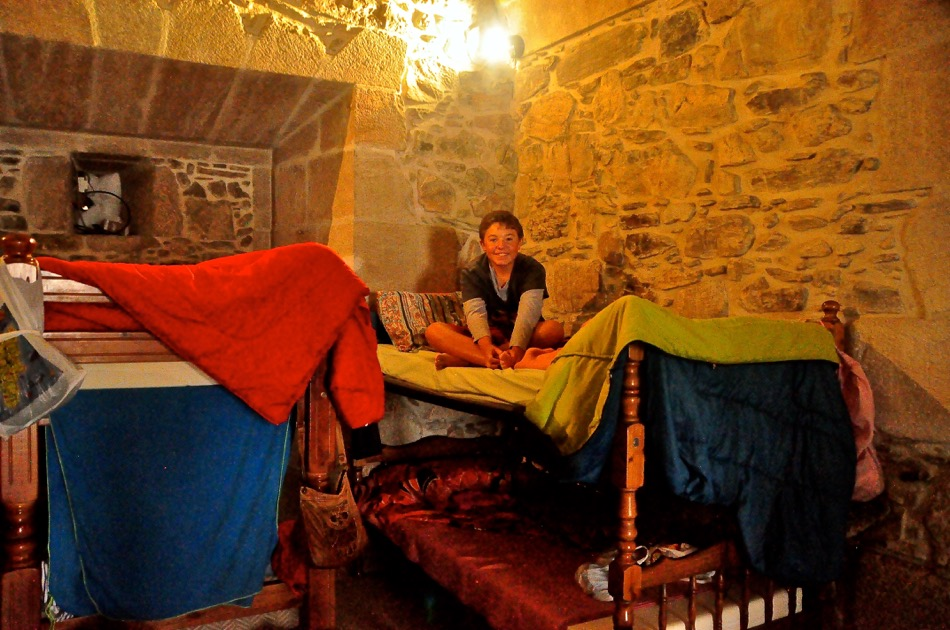 Pilgrim's Hostel Room at Monastery